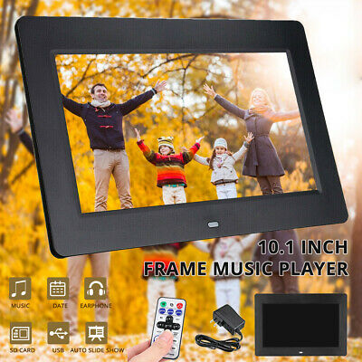 10 Inch LED Digital Photo Frame Electronic Album 1024*600 MP3&4 Player +Remoter
