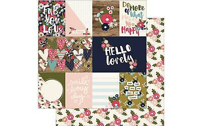 SIMPLE STORIES SIS2005  PAGE PROTECTOR MIX MATCH 3X4 CMBO