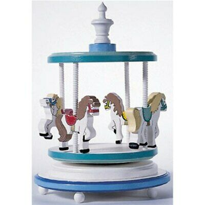 Musical Pony Carousel Ready to Assemble Kit Wood Crafting Cherry Tree Toys