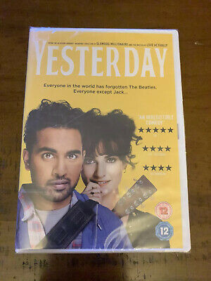 Yesterday (DVD) 2019. The Beatles/ Lily James / Ed Sheeran. New & Sealed.