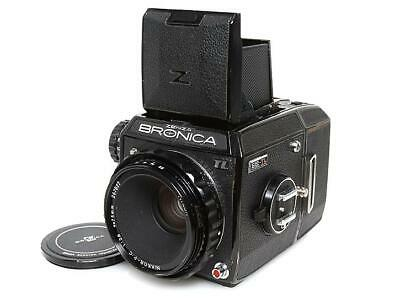 Bronica EC-TL Medium Format Film Camera with 75/2.8 Lens Excellent Japan F/S
