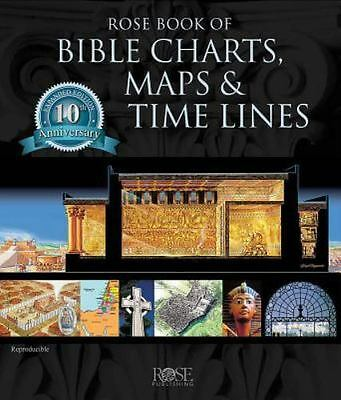 Rose Book of Bible Charts, Maps and Time Lines (2005, Spiral-bound Hardcover)