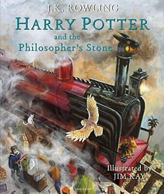 Harry Potter and the Philosopher's Stone by J.K. Rowling Hardback Illustrated