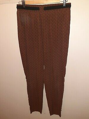 "NEW LOOK Leggings Size 12. Approx  30"" Waist 25.5"" Inside Leg. Exc Condition."