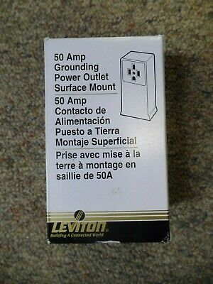 Leviton Power Outlet 061-55050 50A NEW
