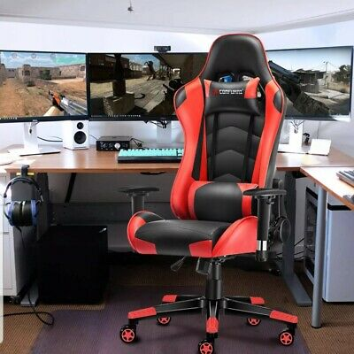 Computer Office Chair Gaming Sport Fx Leather Executive Racing Chair JL Comfurni