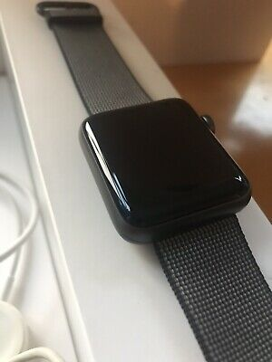 Apple Watch Series 2 42mm Aluminum Case Space Grey Classic Buckle - (MP072LL/A)