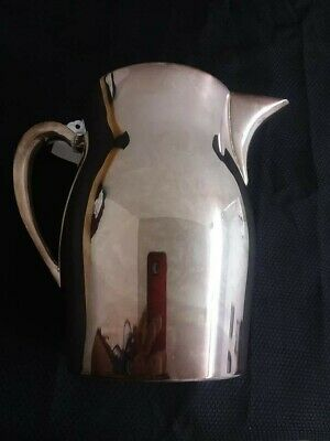 A E.P.C.A. Bristol silver plate # 54 by Poole vintage water pitcher.