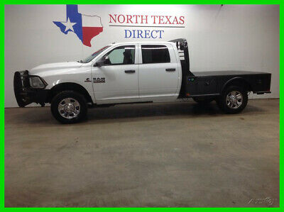 2017 Ram 2500 Tradesman 4x4 Diesel Flatbed Touch Screen Camera R 2017 Tradesman 4x4 Diesel Flatbed Touch Screen Camera R Used Turbo 6.7L I6 24V