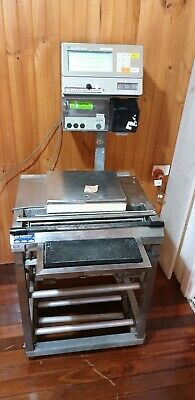 Wedderburn Scales,Commercial Digital Touch Screen.. Label Maker & Heat Seal Unit