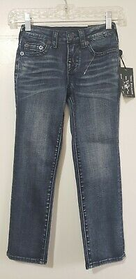 Kids Jeans True Religion Relax Fit Blue Size 6 Nwt