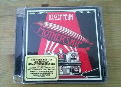 LED ZEPPELIN MOTHERSHIP: THE VERY BEST OF 2 CD (GREATEST HITS) Thor Ragnarok