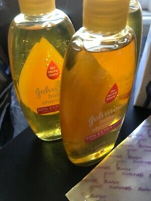 Johnsons Baby Shampoo No More Tears 300ml X 3 Bottles Just £9.99 (post Included)