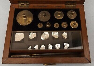VINTAGE 50g L. OERTLING PRECISION WEIGHTS FOR SCALES CHEMIST JEWELLER APOCTHRACY