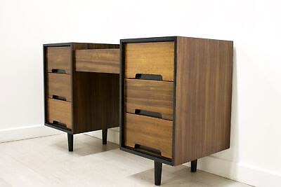 DELIVERY £50 Mid Century Retro Walnut Stag Dressing Table