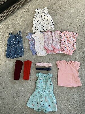 Baby Girls Clothing Bundle Aged 3-6 Months NEW No Tags George, Primark