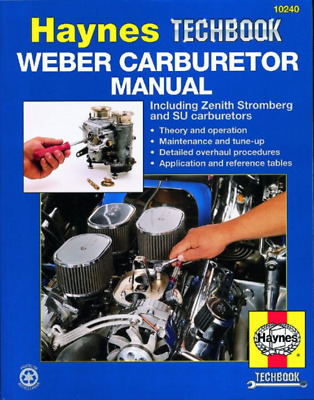 Weber Carburetor Haynes Manual Zenith Stromberg SU Carburettors Techbook NEW