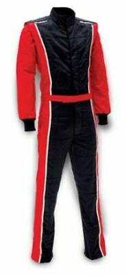 IMPACT RACING 24215707 Racer Suit 2015 1pc Black/Red XX-Large