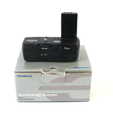 Boxed Olympus HLD-5 Power Battery Holder Grip For E-620 Cam - excellent