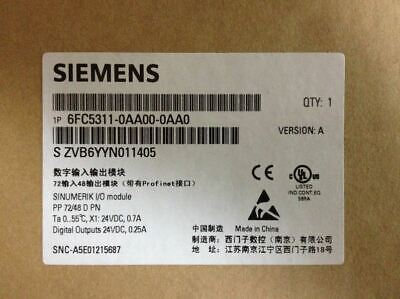 1PC Siemens 6FC5311-0AA00-0AA0  I/O MODULE New In Box Expedited Shipping