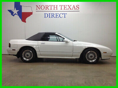 1991 Mazda RX-7 Premium Convertible 31k Garage Kept All Options CL 1991 Premium Convertible 31k Garage Kept All Options CL Used 1.3L R2 Manual Rear