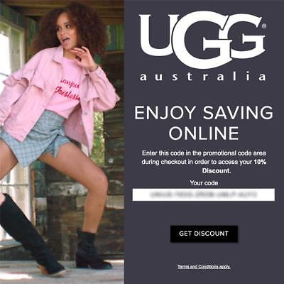 10% off UGG Australia Promo-Coupon Code Exp 5/31/20 OnIine* boots slippers