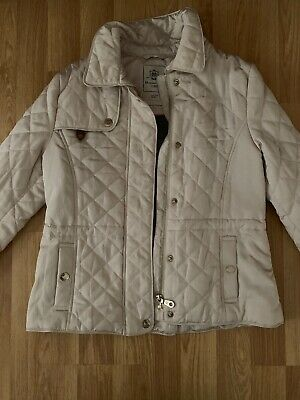Massimo Dutti Girls Quilted Jacket New Without Tags 9-10 Years ( 134-146cm)