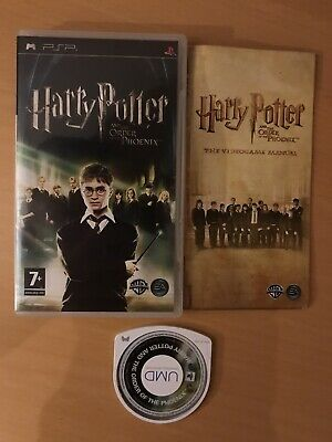 Harry Potter - Order Of The Phoenix (2007) And Half Blood Prince (2009) PSP Game