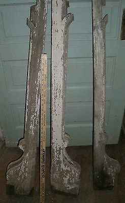 "Antique Victorian  Arch Corbel Architectural  Salvage BRACKET 40 "" long"