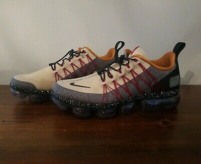 Nike Air Vapormax Run Utility Men's Sz 7.5 DESERT ORE/REFLECT SILVER AQ8810 200
