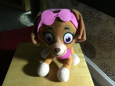 "Official 9"" Paw Patrol Skye Pup Plush Soft Toy Nickelodeon Dogs"
