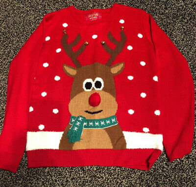 christmas jumper age 11-12 Bnwot