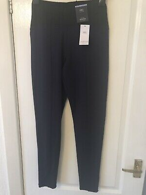 M&S Sculpt And Lift Navy Leggings New Size 8
