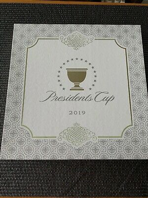 Presidents Cup 2019 Commemorative Plate