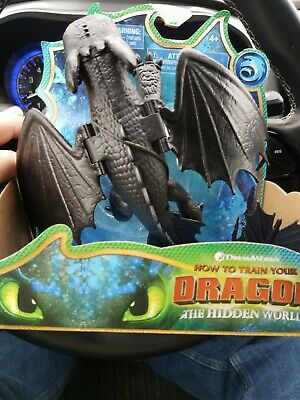 How To Train Your Dragons Movie, Toothless Dragon Figure & Moving Parts Kids Toy