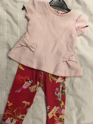 Ted Baker baby  girls outfit size 3-6 m