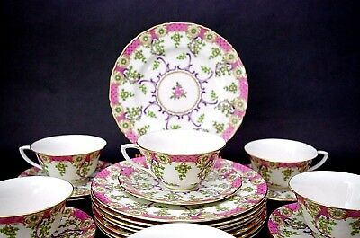 3 Pc Royal Early Worcester Cradley Set Plate, Cup & Saucer ca 1768