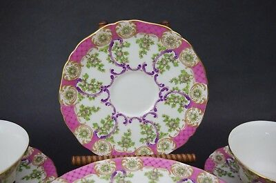 (1) Royal Early Worcester Cradley Bone China Saucer Only ca 1768