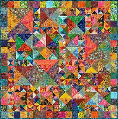 """ULUWATU - 55"""" - Pre-cut Quilt Kit by Quilt-Addicts Lap size"""