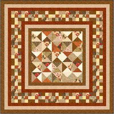 """CHOCOLATE BOX - 67"""" - Quilt-Addicts Precut Quilt Kit Double size"""