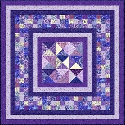 """OPHELIA - 55"""" - Pre-cut Quilt Kit by Quilt-Addicts Lap size"""