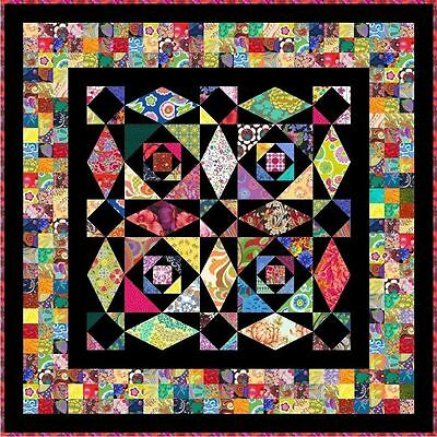 """INTRINSIC - 58"""" - Pre-cut Quilt Kit by Quilt-Addicts Lap size"""