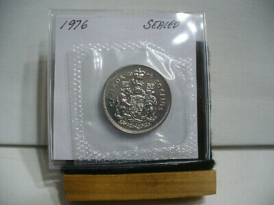 1976 CANADA 50 CENTS PROOF-LIKE COIN