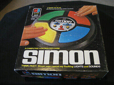 Simon Computer Controlled Electronic Game 100% Complete, Tested Mb 1978 Orig Box
