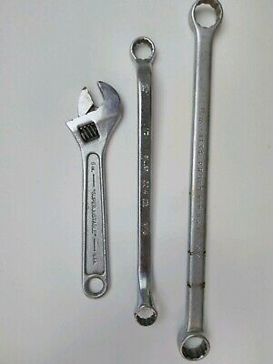 Vintage Wrench Lot-JH Williams-Giller-Proto USA Made