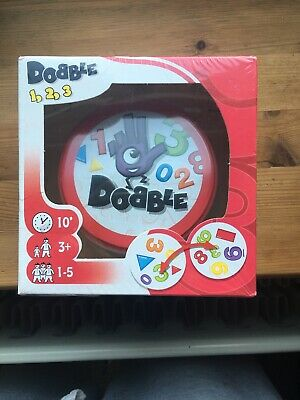 Dobble 123 Card Game | Fun Family Card Game by Asmodee