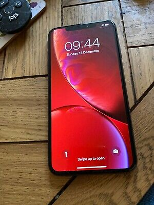 Iphone Xs Max With Leather Flipcase 256GB Unlocked