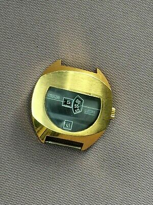 Vintage H. TAYLOR Automatic Retro WATCH, 1970's, SWISS, No Hands, No Face...