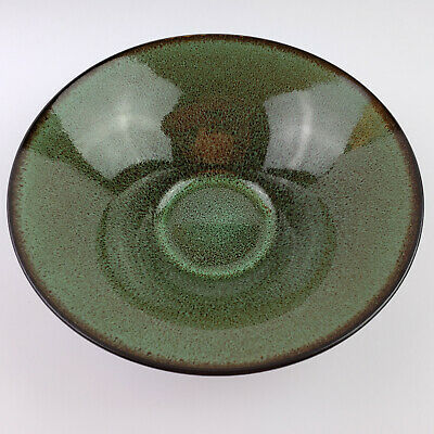 Fusion Wasabi by Gabbay Replacement Soup Salad Cereal Bowl Green Brown Speckled