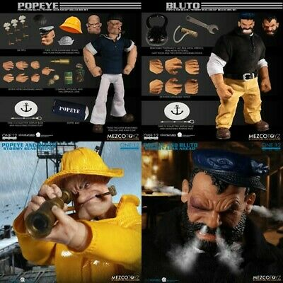 One:12 Collective Figures Popeye & Bluto Stormy Seas Ahead Deluxe Box preorder